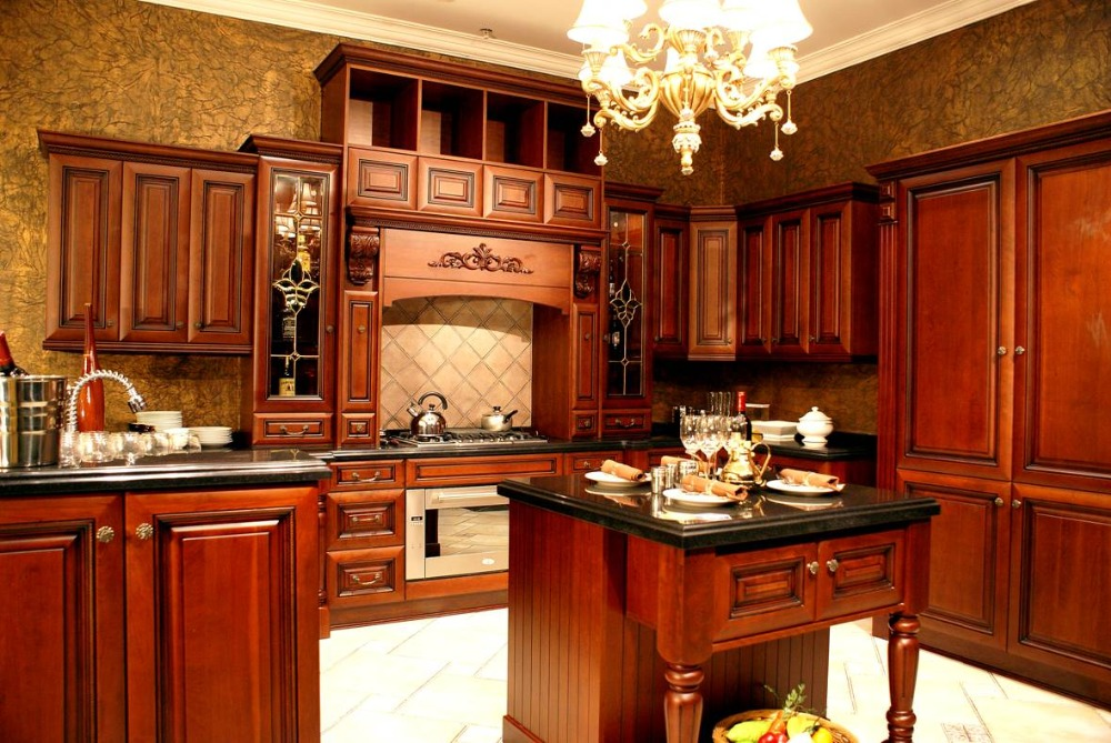 Cherry Kitchen Cabinets: Your Perfect Choice for a Prep Kitchen Decor